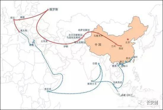 """(图:""""一带一路"""",经济全球化的""""中国方案""""。)"""