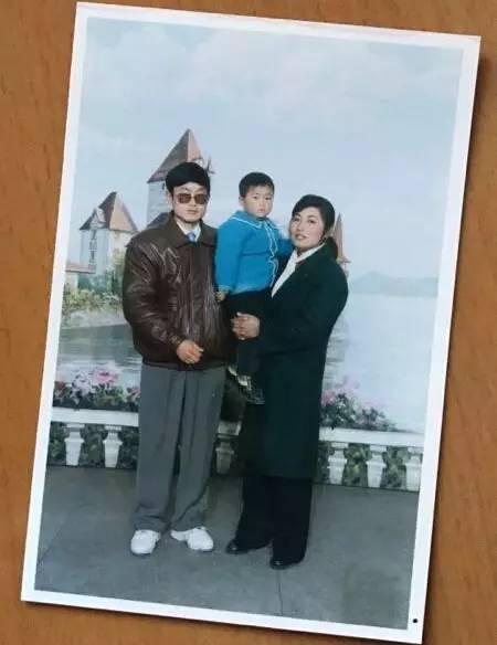 王文安一家,摄于1997年。