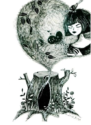 树洞的秘密