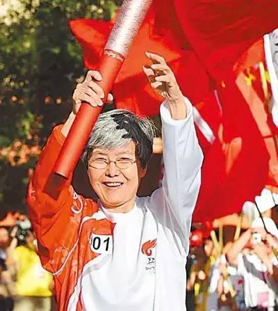 2008年,奥运火炬手樊锦诗