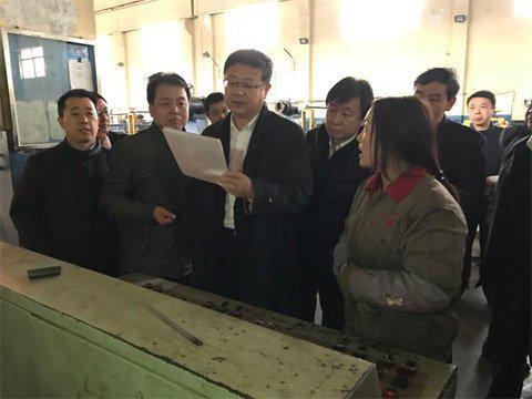 环保部部长陈吉宁赴河北省保定市督查大气治理。