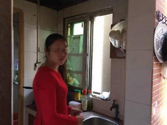 马泮艳在广东的出租房。她逃走后一直在广东生活。