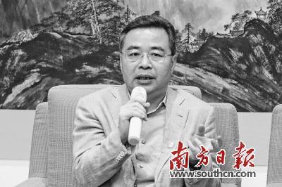 全国人大代表、马可波罗瓷砖董事长黄建平。 南方日报记者 孙俊杰摄