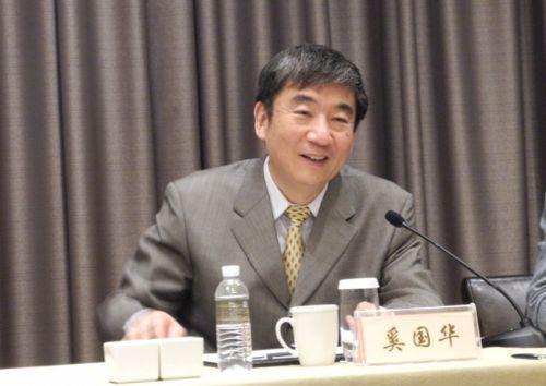 全国政协委员、原中国移动董事长奚国华