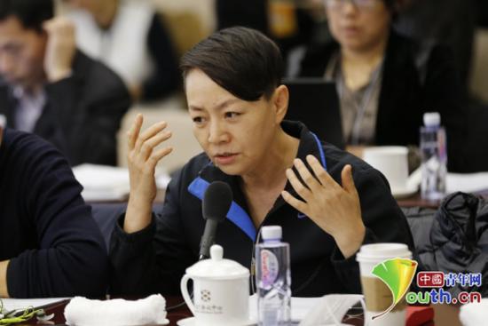 全国政协委员宋丹丹。
