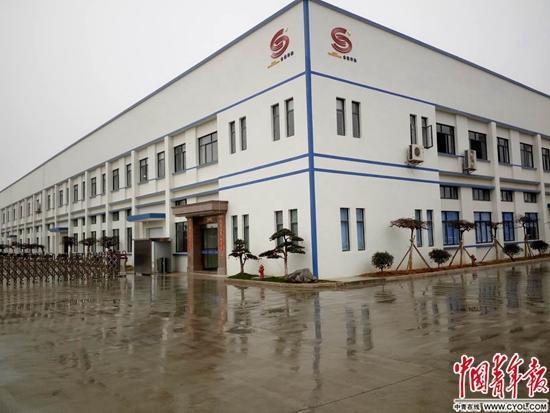 浙江兰溪,富二代经营管理的工厂。中国青年报・中青在线记者 章正/摄