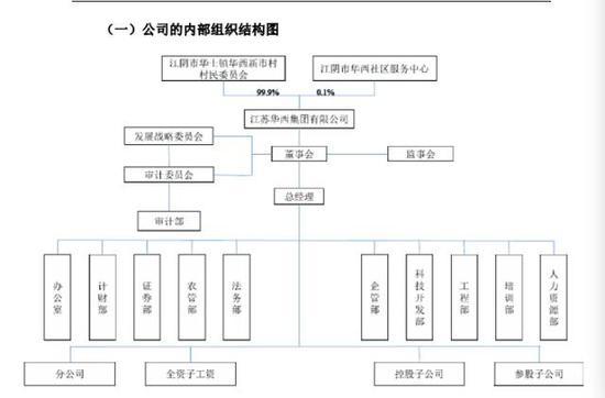 (华西集团组织结构图)