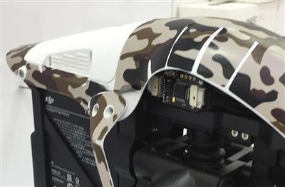 机壳内加装电子模块(红圈处)定位,可让无人机飞入禁飞区。