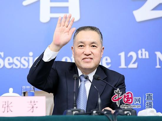 国家工商总局局长张茅 (中国网 高聪 摄)