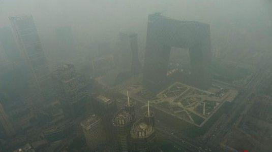 北京雾霾 ziliaotu