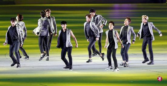 韩国偶像团体EXO下月2日将在新加坡举行巡演