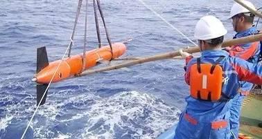 """""""海翼""""号7000米级水下滑翔机海上试验"""
