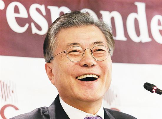 朴槿惠继任者是谁?文正在寅12周连居撑持率榜首
