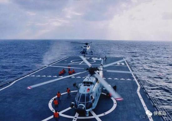 首先,中国仍然面临着捍卫国家统一,和维护岛屿、海洋国土权益的挑战。这些方向上,显然需要一支强大的海军和海军陆战队。