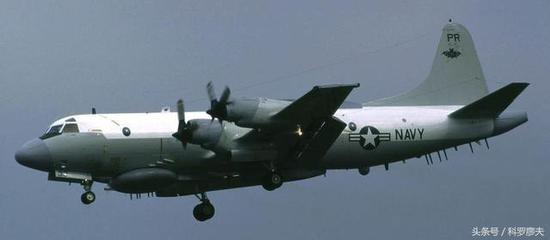 图片:美国EP-3型156511号军用电子侦察机