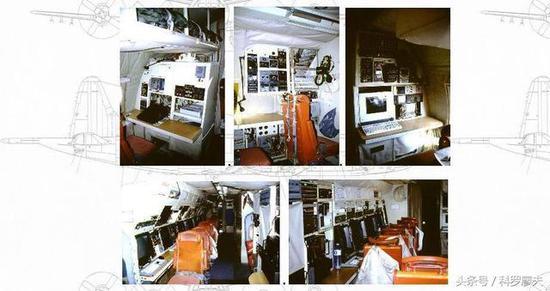 图片:在陵水机场被我军缴获的EP-3E机舱内部照片
