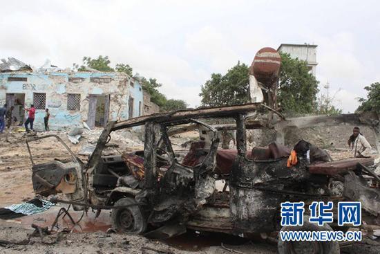 索马里国防部附近发生自杀式汽车爆炸 已致10死