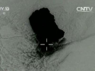 炸弹之母爆炸画面 资料图