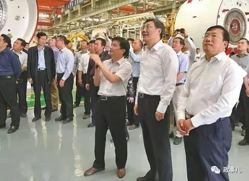 王文涛、王忠林在郑州考察