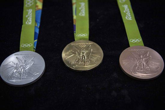 里约奥运奖牌因生锈被退货 多数为铜牌