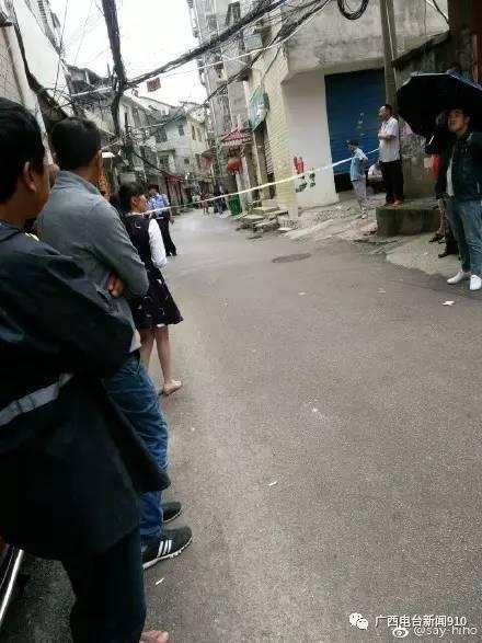 下战书16时阁下,@桂林网警巡视法律 微博宣布新闻: