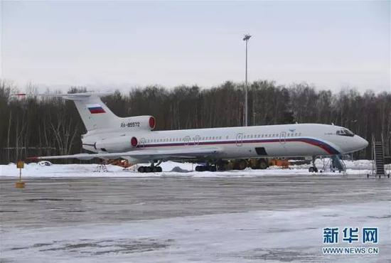 从莫斯科起飞;3:43,飞机成功降落在索契阿德勒尔机场