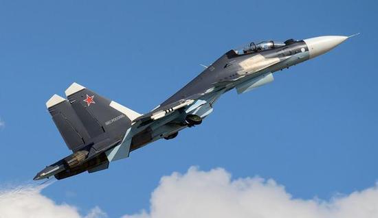 资料图:俄军战斗机