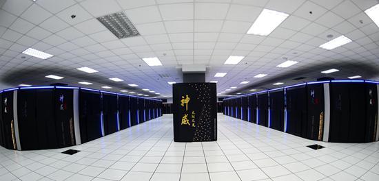 神威太湖之光超级计算机