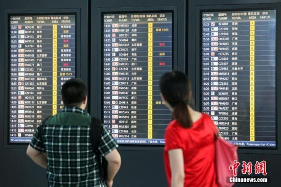 暴雨将至 民航空管发布首都机场延误黄色预警