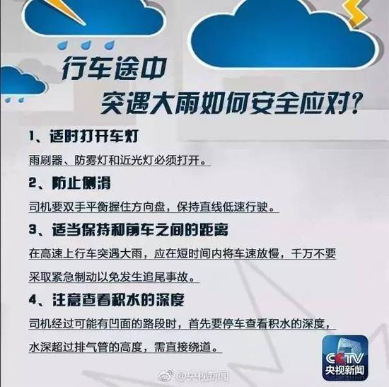 夏季暴雨防范自救手册 关键时刻能救命!
