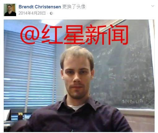 ▲嫌犯克里斯滕森 图据其Facebook账号