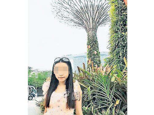 张雪娇被指已逃到马来西亚与马来西亚籍丈夫会合,图为其出国旅游生活照