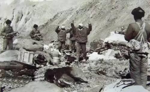 中印1962年边境冲突资料照片