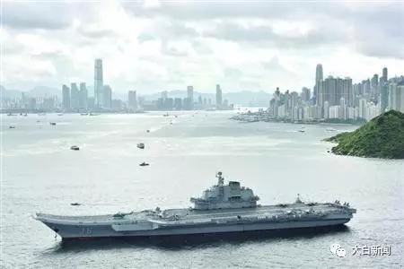 (7月7日,海军辽宁舰抵达香港)