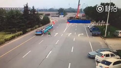 (事故发生现场 图片来源于网络)