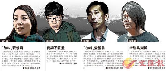 香港4名议员宣誓辱国今判决 或丧失议员资格