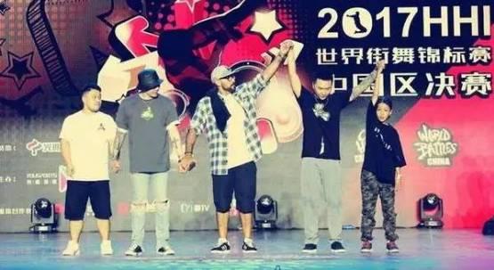12岁的席嘉琪获得了HHI街舞锦标赛中国区popping总冠军。