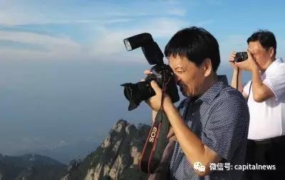 摄影中的秦玉海