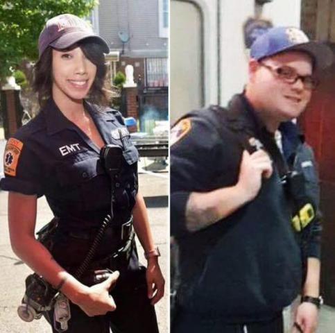 两名急救人员