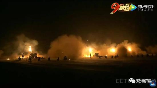 (飞夺泸定桥红二连夜战)