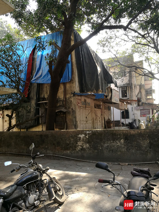 诈骗人员在印度的窝点