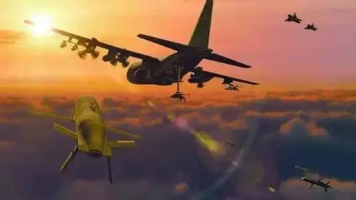"""▲探索空中发射和回收小型无人机蜂群的""""小精灵""""项目"""