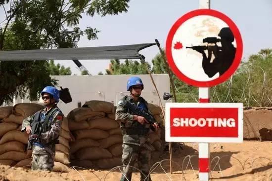 ▲中国驻马里维和部队