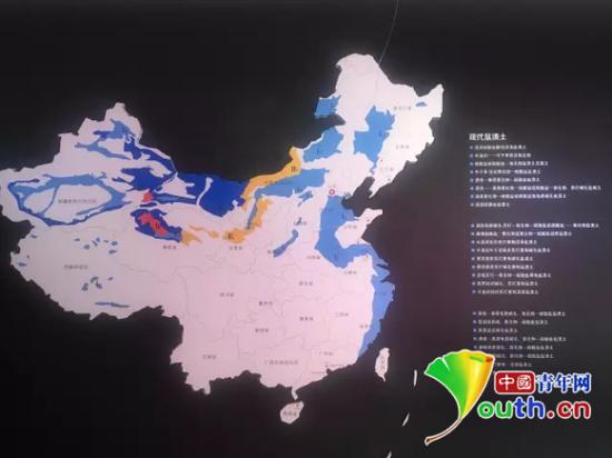 """悬挂在袁隆平""""豪宅""""里的地图。中国青年网记者李正穹 摄"""