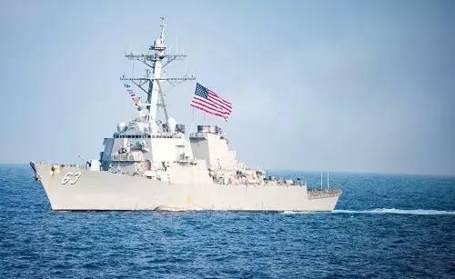 """▲资料图片:美国海军""""斯特西姆""""号驱逐舰"""