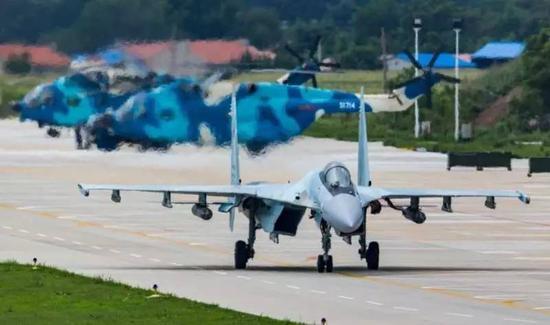 ▲资料图片:俄军苏-35S重型战机