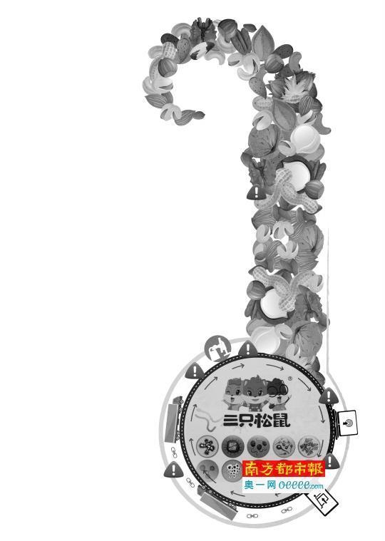 三只松鼠开心果霉菌超标 代加工模式被指是祸端