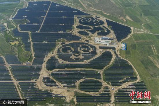 资料图:2017年8月15日,山西大同,日前,结构在大同的全球首座熊猫光伏电站正式并网发电。图片泉源:视觉中国