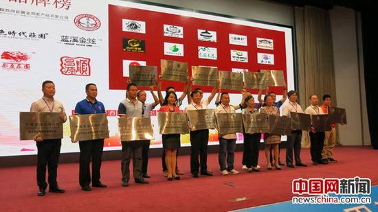 22家企业入选中国果酒品牌计划。中国网记者 张艳玲 摄