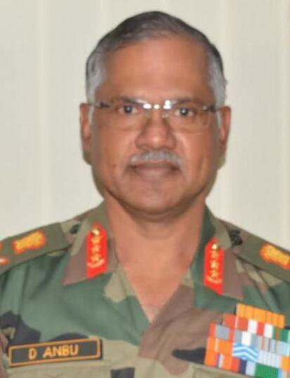 印度北方陆军指挥官迪吾莱・安布(DevrajAnbu)